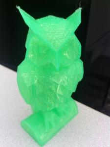 image of 3D NMC Hawk Owl