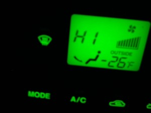 Image of temperature gauge