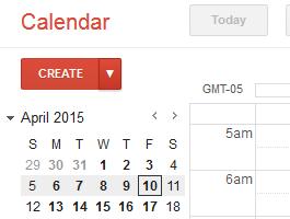 Using Google Calendars for Reminders