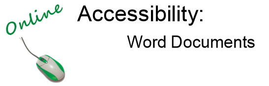 AccessibleWordDocuments