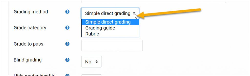 Selecting a Rubric or Grading Guide