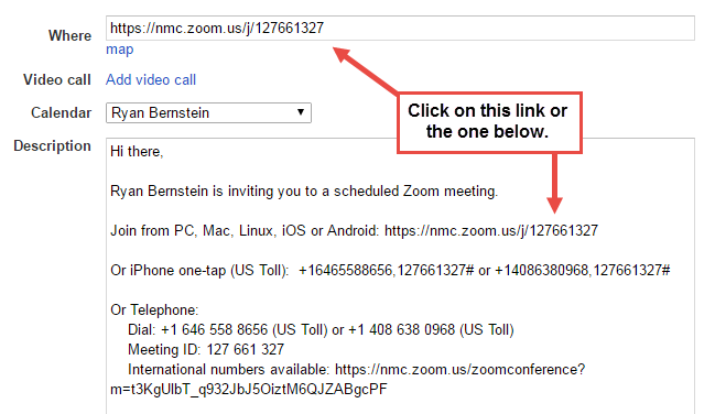 Joining a Zoom Meeting | teaching@NMC