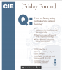 CIE November 2016 Friday Forum Flier