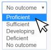 Selecting Outcomes