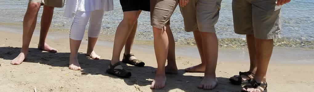Shorts on the beach