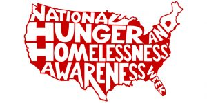 National Hunger and Homelessness Awareness Week