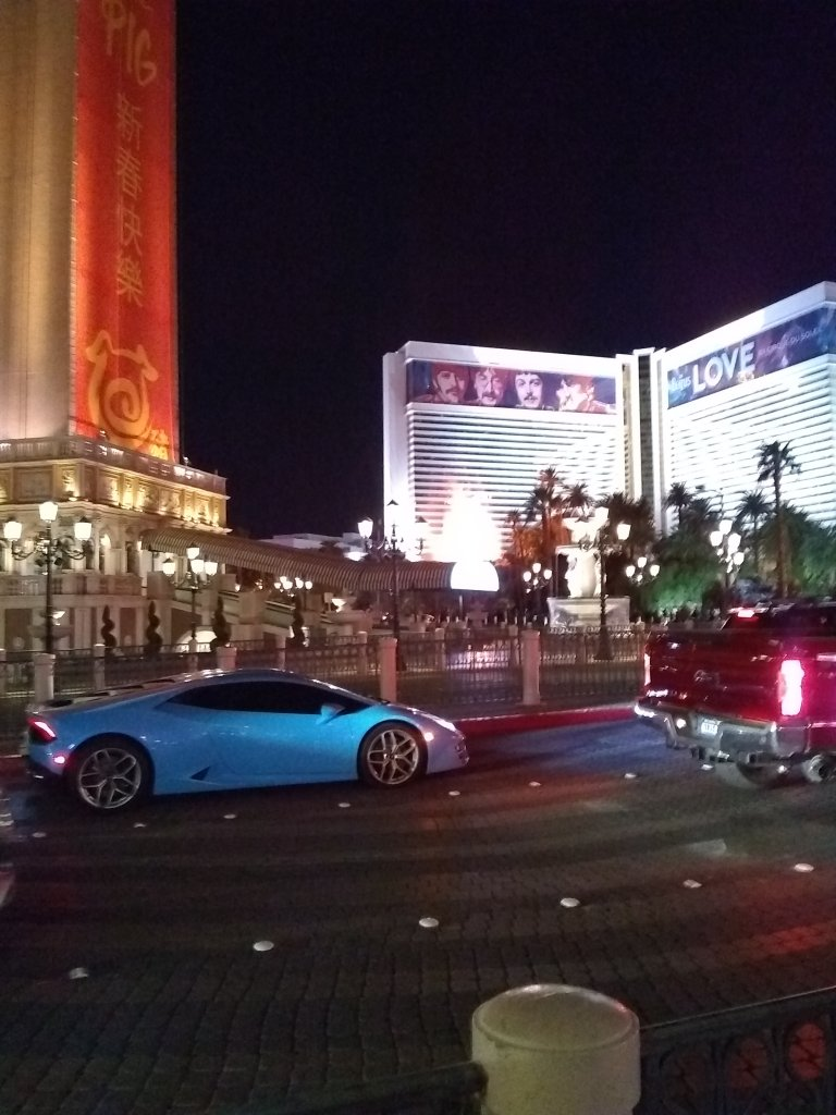 Vegas strip