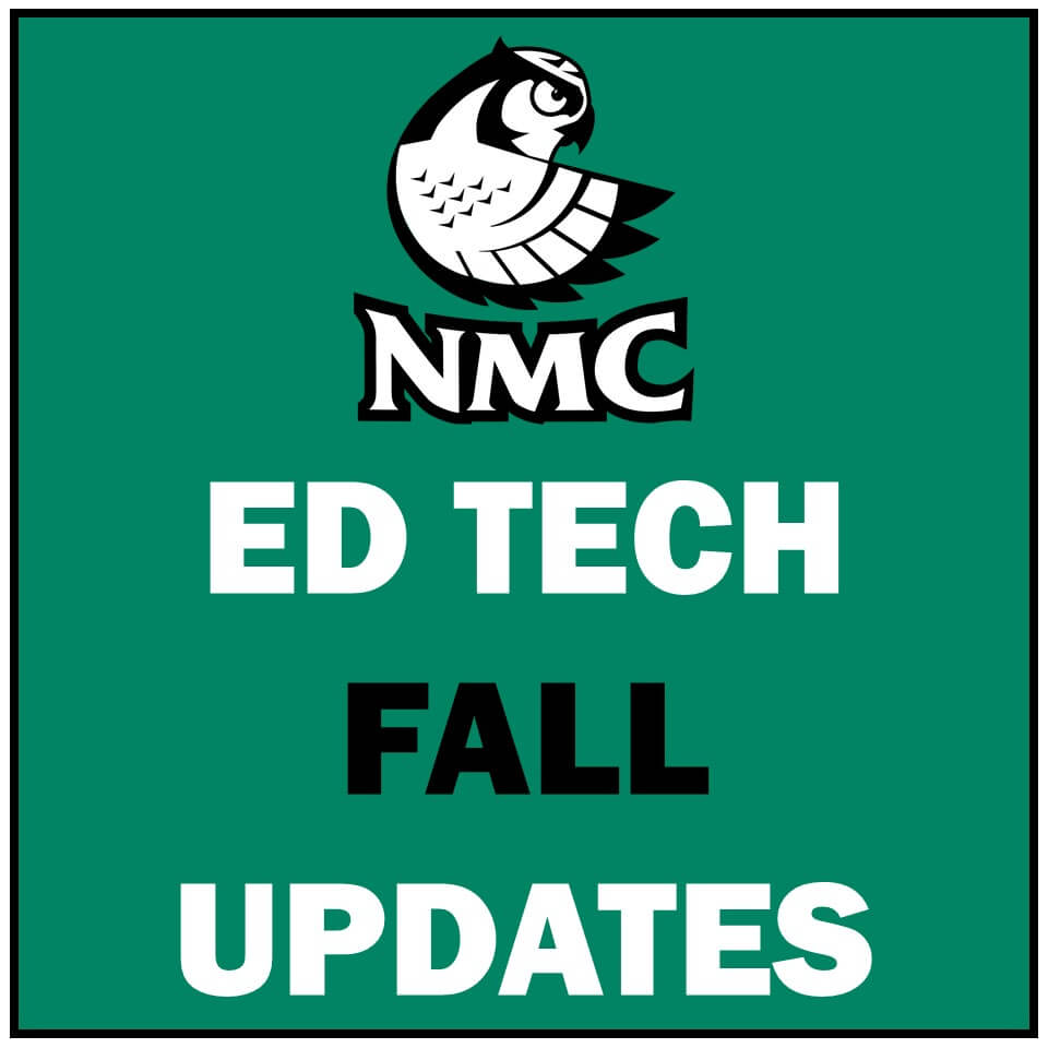 Fall Updates from Ed Tech