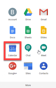 (google apps sub menu)