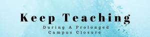 keep teaching banner