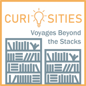 logo for Curiosities: Voyage Beyond the Stacks